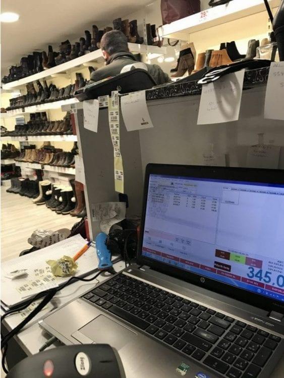 Ayakkabı Mağazası Satış Programı