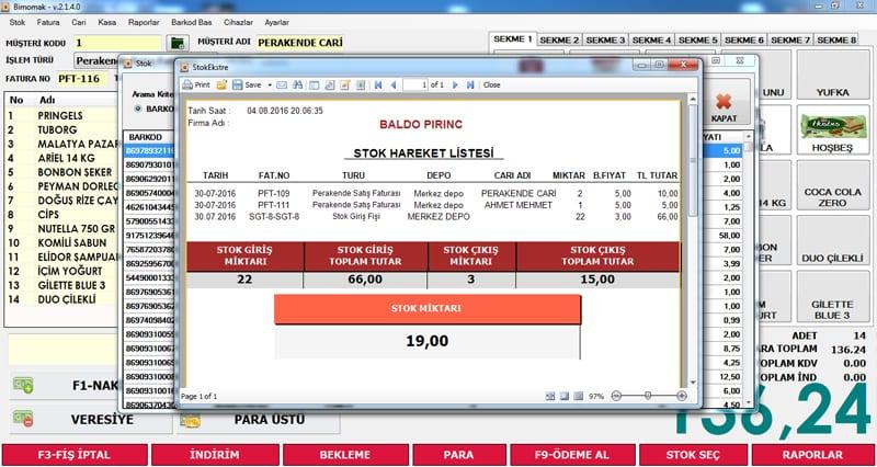 Market Barkod Sistemi