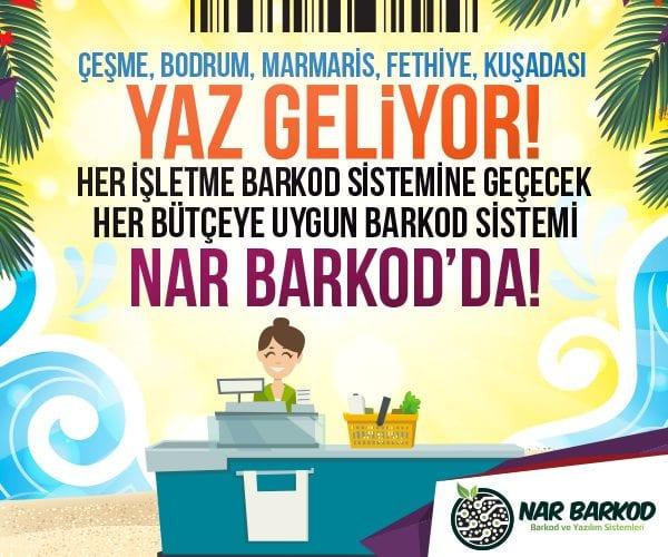 İzmir Barkod Sistemi